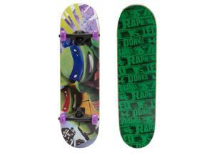 PlayWheels 28 Inch Teenage Mutant Ninja Turtles Skateboard - Masked Mutants