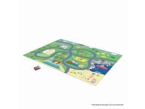 Peppa Pig Mega Playmat With Two Vehicles