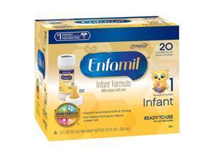 Enfamil Premium Infant Ready to Feed Nursette Formula - 2 Ounce - 6-pack