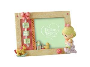 Precious Moments 'Jesus Loves Me' Girl Praying 4x6 Photo Frame