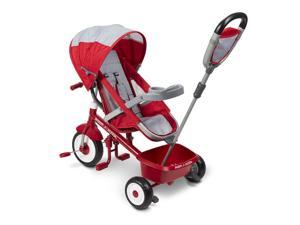 Radio Flyer 5-in-1 Stroll 'N Trike - Red