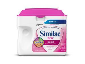 Similac Isomil Soy Infant Formula with Iron Powder -23.2 Ounce
