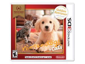 Nintendogs + Cats: Golden Retriever & New Friends - Nintendo 3DS