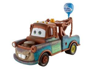 Disney Pixar Cars 1:55 Scale Diecast Vehicle with Balloon - Mater