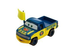 Disney  Cars 1:55 Scale Diecast Vehicle - Dexter Hoover with Yellow Flag