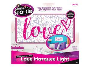 Cra-Z-Art Shimmer 'n Sparkle Marquee Light - Love
