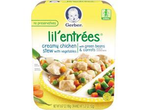 Gerber Lil' Entrees Creamy Chicken & Vegetable Stew with Green B - 6.6 Ounce