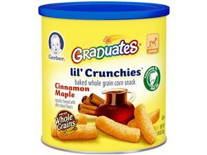 Gerber Graduates Lil' Crunchies Cinnamon Maple