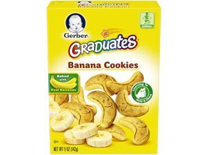 Gerber Graduates Banana Cookies, 5 Ounce Box