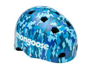Mongoose Blue Camo Youth Helmet