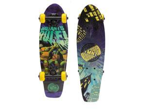 PlayWheels 21 Inch Teenage Mutant Ninja Turtles Skateboard - Mutants Rule