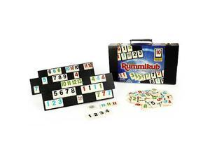 Rummikub - Deluxe Large Numbers Edition with Case