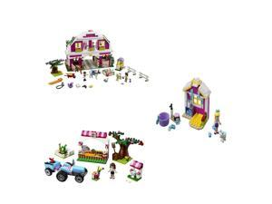 LEGO Friends Co Pack 41026, 41029, 41039
