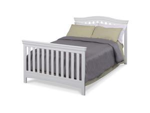 Delta Children Bennington Full Size Bed Rails - White Ambiance