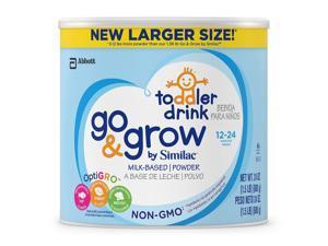 Similac Go & Grow Non-GMO Powder Can Toddler Drink - 24 Ounce