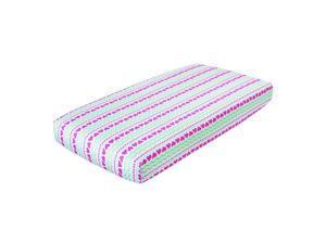 aden by aden anais Light Hearted Single Crib Sheet