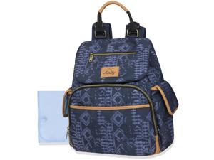 Kelty Deluxe Wide Opening Backpack with Abstract Print - Blue