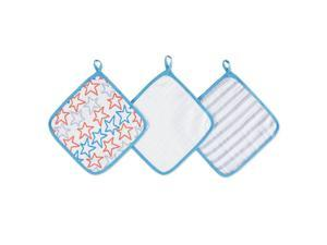 aden by aden anais 3 Pack Small Fry Washcloth Sets
