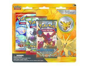 Pokemon Legendary Birds Zapdos Collector's Pin - 3 Pack