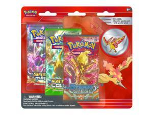 Pokemon Legendary Birds Moltres Collector's Pin - 3 Pack