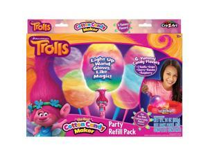 DreamWorks Trolls The Real Cotton Candy Maker Party Refill Pack