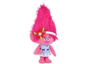 Holiday Greeter DreamWorks Trolls Poppy Plush with Candy Cane