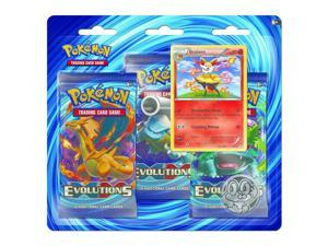 Pokemon X & Y 12 Evolutions 3 Pack - Braixen