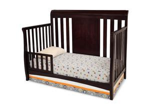 Delta Children Bennington Sleigh Toddler Guard Rail - Dark Chocolate
