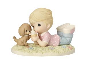 Precious Moments Ice Cream With Joy When You're With Me Bisque Porcelain