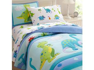 Olive Kids Dinosaur Land Twin Bed Comforter Set