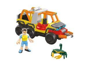 Fisher-Price Imaginext Six Wheeler Truck Play Set