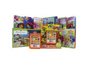 Nickelodeon Electronic Reader and 8-Book Library