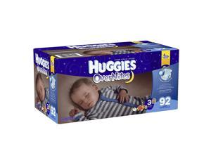 Huggies Overnites Size 3 Baby Diapers - 92 Count