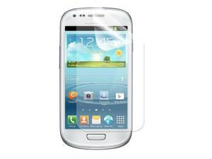 Kit Me Out USA 10 Screen Protectors with MicroFibre Cleaning Cloth for Samsung Galaxy S3 Mini i8190 (NOT FOR S3)