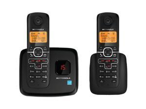 MOTOROLA L702M DECT 6.0 Cordless Phone System with Digital Answering System & Speakerphone (2-Handset system)