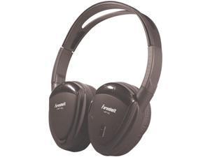 POWER ACOUSTIK HP-11S Swivel Ear Pad, Single-Channel Wireless IR Headphones - HP-11S