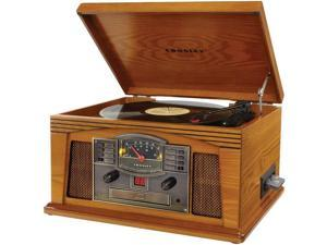 CROSLEY RADIO CR42C-OA Lancaster Musician Entertainment Center (Oak)