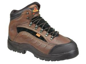 Leather Electrical Hazard Slip Resistant Rubber Sole Safety Toe Leather