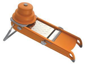 De Buyer Swing 2.0 Mandoline - Julienne and Grater - Orange