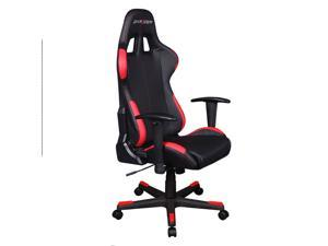 DXRacer Formula Series OH/FD99/NR Newedge Edition Racing Bucket Seat Office Chair Computer Seat Gaming Chair DXRACER Ergonomic Desk Chair Rocker with Pillows