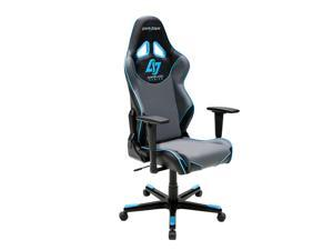 DXRacer Racing Series OH/RE129/NGB/CLG Counter Logic Gaming Racing Bucket Seat Office Chair Gaming Chair Ergonomic Computer Chair Desk Chair Executive Chair With Pillows