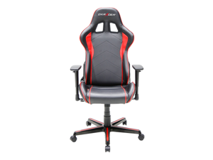 DXRacer Formula Series OH/FH08/NR Newedge Edition Racing Bucket Seat Office Chair Pc Gaming Chair Computer Chair Vinyl Desk Chair With Pillows