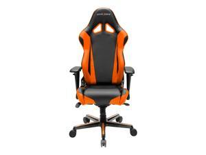 DXRacer Racing Series OH/RV001/NO Newedge Edition Racing Bucket Seat Office Chair Gaming Chair PVC Ergonomic Computer Chair eSports Desk Chair Executive Chair With Pillows