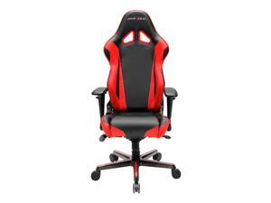 DXRacer Racing Series OH/RV001/NR Newedge Edition Racing Bucket Seat Office Chair Gaming Chair PVC Ergonomic Computer Chair eSports Desk Chair Executive Chair With Pillows