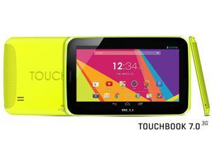 "BLU Touch Book 7.0 3G P200L Yellow Unlocked Android v4.4 7"" Tablet WiFi"