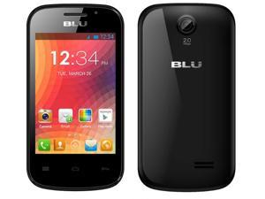 Blu Dash JR W - Factory Unlocked Dual Sim - Black D141w