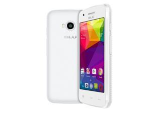 BLU Dash L Unlocked Smartphone - Global GSM - White D050L