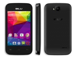 BLU Dash Jr 3G Unlocked Smartphone - Global GSM - Black D190L