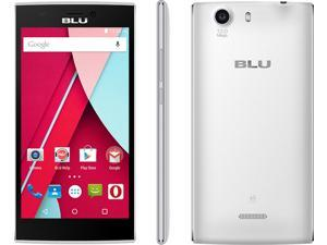 "BLU Life One XL X030q Unlocked 4G LTE 5.5"" Screen GSM Phone 13MP 8GB - White"