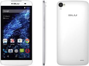 Blu Dash X Plus D950U White Unlocked GSM Dual-SIM Quad-Core Android Phone